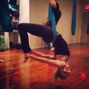 Annasophia Robb - Aerial Yoga (YOGA TIGHTS) 11/07/14