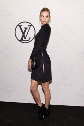 Karlie Kloss - Louis Vuitton Monogram Celebration in NYC 11/7/14