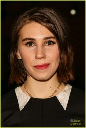 Zosia Mamet in pantyhose at the Honor Fashion Show during Mercedes-Benz Fashion Week Fall 2014   2/10/14