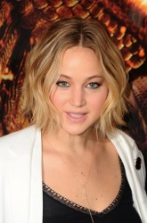 Jennifer Lawrence The Hunger Games Mockingjay Part I Photocall in London 11/9/14 1