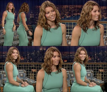 Jessica Biel - Late Night with Conan O'Brien 07.17.07 In HD?