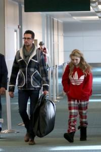Sammi Hanratty airport departure candids Vancouver 4