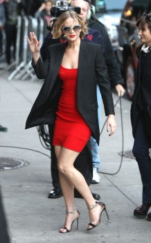 Jennifer Lawrence Going to and at the 'Late Show with David Letterman' in NYC 11/12/14 20