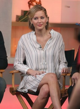 Jennifer Lawrence 'Good Morning America' in NYC 11/13/14 5