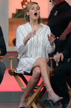 Jennifer Lawrence 'Good Morning America' in NYC 11/13/14 4