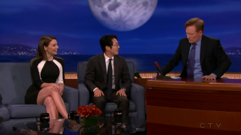 Lauren Cohan - Conan 02.06.2014 720p or 1080i