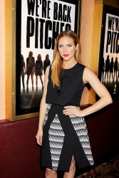Britanny Snow Pitch Perfect Sing Along Screening in NY 11/19/14 8
