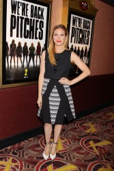 Britanny Snow Pitch Perfect Sing Along Screening in NY 11/19/14 10