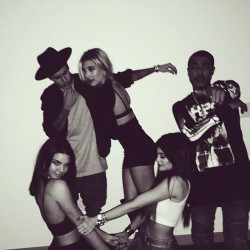 Hailey Baldwin, Kendall Jenner, Kylie Jenner celebrate Hailey's 18th birthday