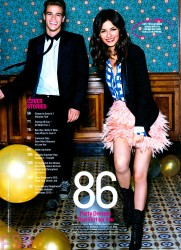 Victoria Justice - Cosmopolitan magazine January 2015