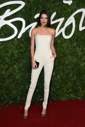 Kendall Jenner - 2014 British Fashion Awards in London 12/1/14