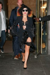 Lady Gaga - in NYC