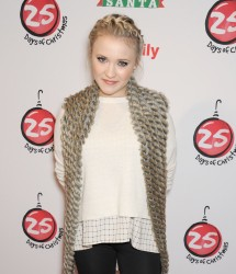 Emily Osment - ABC's 25 Days Of Christmas Celebration 12/07/14