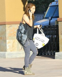 Brenda Song - Shopping in Studio City 12/8/14