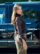 Alessandra Ambrosio & Behati Prinsloo - On the set of 'Extra' in LA 12/8/14
