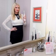 Nicky Hilton Promoting Philips Sonicare and Philips Zoom in NYC December 9-2014 x9