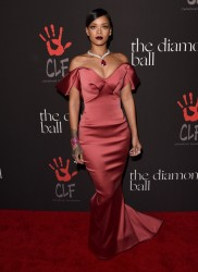 Rihanna - 1st Annual Diamond Ball Benefitting The Clara Lionel Foundation in Beverly Hills 12/11/14