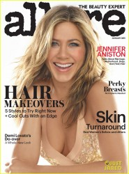 Jennifer Aniston - Allure Magazine January 2015