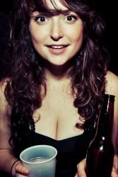 Milana Vayntrub at Dragon's Den in Venice - 3/9/12