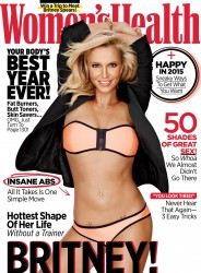 Britney Spears Women's Health Cover (with/'without printing)