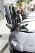 Kim Kardashian - with Kanye West have lunch in Hollywood December 20-2014 x87