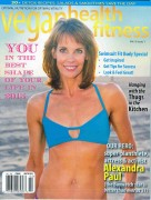 Alexandra Paul - Vegan Health & Fitness Magazine Feb 2015 cover (bikini top)