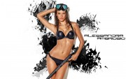Alessandra Ambrosio : One Hot Wallpaper