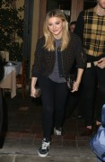 Chloe Moretz leaving Ago Restaurant in West Hollywood January 7-2015 x6