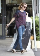 Emma Roberts - Picking up her dry cleaning in West Hollywood 1/8/15