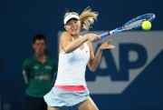 Maria Sharapova Semi final of the Brisbane International in Australia - January  9-2015 x2