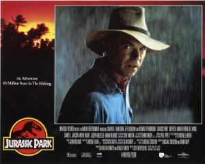 Парк Юрского периода / Jurassic Park (Сэм Нил, Джефф Голдблюм, Лора Дерн, 1993)  132fc7380762699