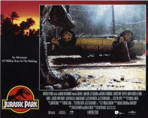 Парк Юрского периода / Jurassic Park (Сэм Нил, Джефф Голдблюм, Лора Дерн, 1993)  D82d96380762667
