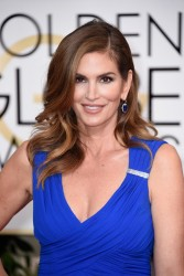 Cindy Crawford - 72nd Annual Golden Globe Awards in Beverly Hills 1/11/15