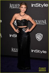 Sarah Hyland - InStyle and Warner Bros 2015 Golden Globes After Party in Beverly Hills 1/11/15