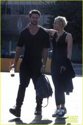 Miley Cyrus - Leaving Hugo's in Sherman Oaks 1/22/15