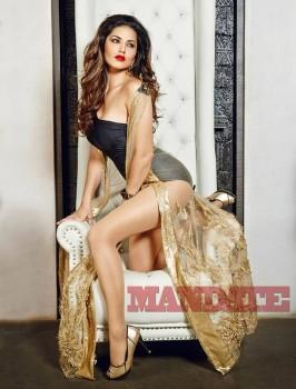 Sunny Leone Leggy In Mandate Mag