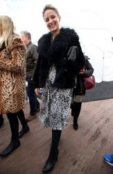 Dianna Agron - Out & About in Park City, Utah 1/27/15