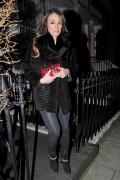 Elizabeth Hurley Leaving her home in London January 27-2015 x10