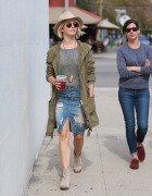 Julianne Hough - Shopping in West Hollywood 1/28/15