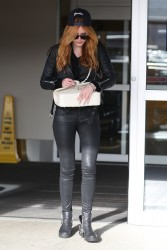 Bella Thorne - at Victoria Island Airport in British Columbia 1/28/15