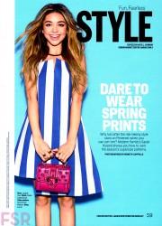 Sarah Hyland - Cosmopolitan magazine March 2015