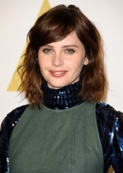 Felicity Jones - Academy Awards Nominee Luncheon in Beverly Hills 2/2/15
