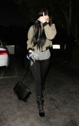 Kylie Jenner - Going to Sugarfish in Calabasas 2/3/15