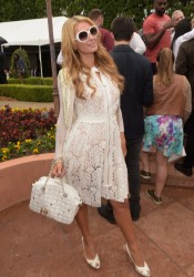 Paris Hilton - Roc Nation 2015 Pre-GRAMMY Brunch in Beverly Hills 2/7/15