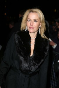 Gillian Anderson, Charles Finch & CHANEL Pre-BAFTA , London, 07/02/2015