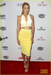 Gigi Hadid - Sports Illustrated Swimsuit 2015 Swim City Celebration in NYC 2/10/15