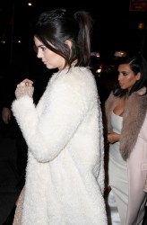 Kendall Jenner - Out for dinner in NYC 2/10/15