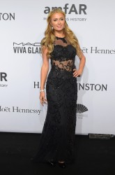 Paris Hilton - 2015 amfAR New York Gala 2/11/15