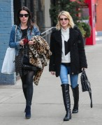 Emma Roberts - Out & About in NYC 2/12/15