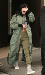 Kylie Jenner - Leaving her hotel in NYC 2/12/15